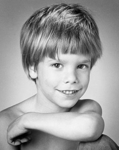 portret nestalog dečaka Itana Paca